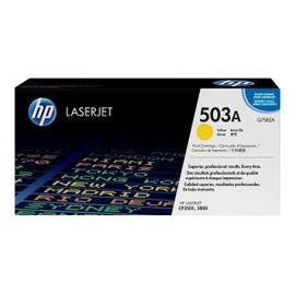 Hp 503a - Cartouche De Toner - 1 X Jaune - 6000 Pages - Pour Color Laserjet 3800, 3800dn, 3800dtn, 3800n, Cp3505, Cp3505dn, Cp3505n, Cp3505x