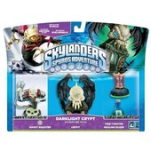 Pack De Figurine Darklight Crypt Skylanders: Spyro's Adventure - Ghost Roaster + Crypt
