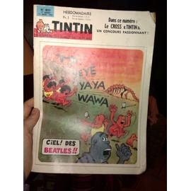 Tintin L'hebdomadaire N� 855 : Yeye Yaya Wawa