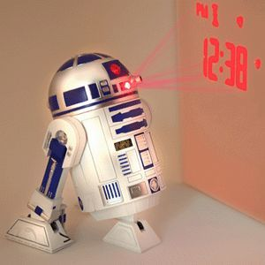 Réveil R2d2 Projection Star Wars, Cadeau Star Wars