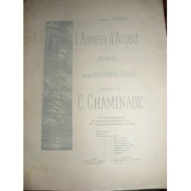 L'Anneau d'Argent - Rondel - C. Chaminade - Ténor ou Soprano en Fa