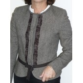 Veste Georges Rech -Original- Taille 40 - Marron - Forme Spencer