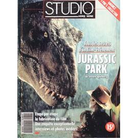 Studio Magazine Hors-S�rie N� 79 : Tous Les Secret De Jurassic Park