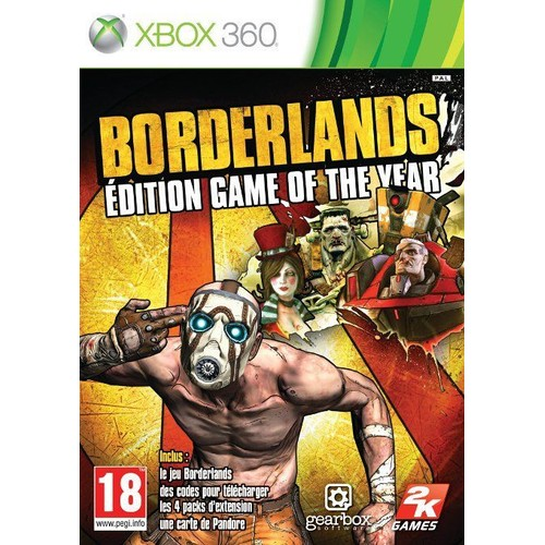 Borderlands Game Of The Year Edition - Xbox 360