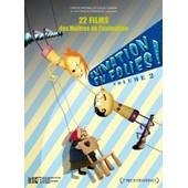 Animation En Folies ! Volume 2 - 21 Films Des Ma�tres De L'animation de Anita Lebeau