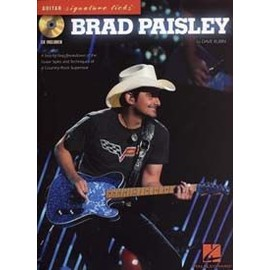 PAISLEY BRAD GUITAR SIGNATURE LICKS CD