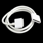 C�ble Extension Dock Connecteur Femelle M�le Pour Ipad 2 Iphone 3g 3gs 4 4s Ipod Touch 4g Nano Blanc