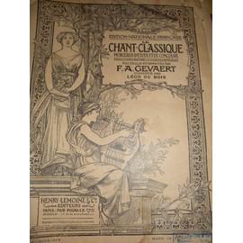 Le Chant Classique Morceaux D'etudes Et De Concours F.A Gevaert N°16 : Récitatif et monologue de Roméo et Juliette