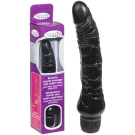 Vibromasseur Black Multi Speed R�aliste - 23 Cm Sextoy Sextoys