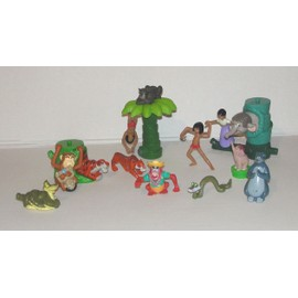 Figurines Le Livre De La Jungle Disney Macdo