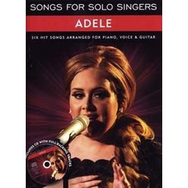 ADELE SONGS FOR SOLO SINGERS CD