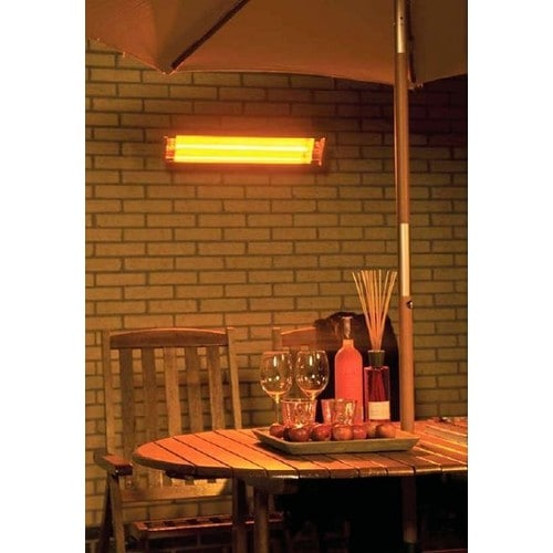 Bob-home - Chauffage de Terrasse Mural 1500W Télécommandé