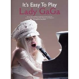 Lady Gaga : it's easy to play - chant + piano facile + accords