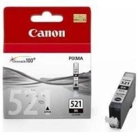 Canon - Cli-521 Bk - Cartouche D'encre D'origine - Noir