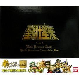 Saint Seiya 5 In 1 New Bronze Cloth Gold Ver. Complte Box. Version Asie.