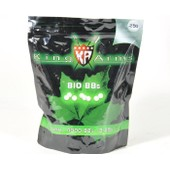 Sachet De 4000 Billes Blanches Bio Degradables 0.25g King Arms Ka-Bb-05-Wh Airsoft