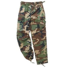 Pantalon Us Ranger Forme Treillis Bdu Camo Camouflage Woodland Miltec 11810020 Airsoft