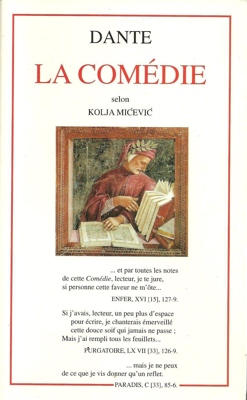 La Divine Comédie - Kolja Micevic - 01/01/1998