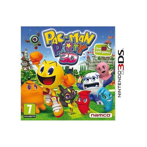 PacMan Party - Nintendo 3DS