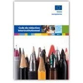 Code De R�daction Interinstitutionnel de Office Des Publications