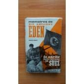 Memoires De Sir Anthony Eden Tome 2 : 1945-1957 La Verite Sur L'affaire De Suez de Sir Anthony EDEN