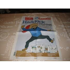 La Nouvelle Gazette 2011 - 22 Pages Collector Sur Le Capitaine Haddock (Tintin).