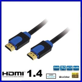 Logilink Cable Hdmi High Speed, Avec Cable Ethernet, 10,0 M