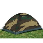 Tente De Camping Igloo 2 Places Camo Camouflage Woodland Etanche Miltec 14207020 Airsoft