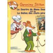 Geronimo Stilton Le Sourire De Mona Sourisa Et Le Galion Des Chats Pirates de geronimo stilton