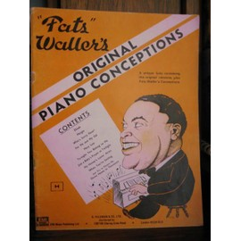 Fats Waller's original piano conceptions