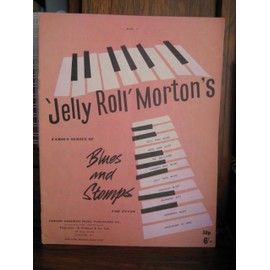 Jerry Roll Morton's famous series of Blues and stomps for piano : Book 2