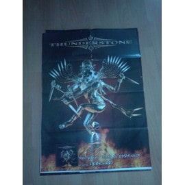 AFFICHE THUNDERSTONE - TOOLS OF DESTRUCTION 80x60