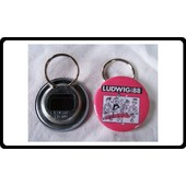Badge Porte Cl� D�capsuleur 56 Mm Du Groupe Ludwig Von 88