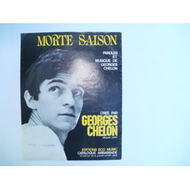 "partition Georges CHELON ""Morte saison"""