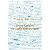 Thomas Hirschhorn. Kurt Schwitters-Plattform. Untere Kontrol de