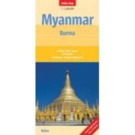 Myanmar - Burma 1 : 1 500 000