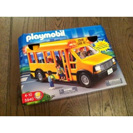 bus playmobil d 39 occasion 114 pas cher vendre en france. Black Bedroom Furniture Sets. Home Design Ideas
