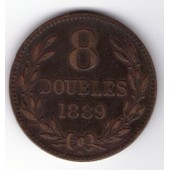 Guernesey 8 Doubles 1889 H