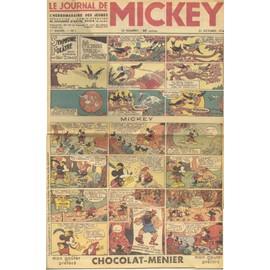 Le Journal De Mickey 1934 N� 1