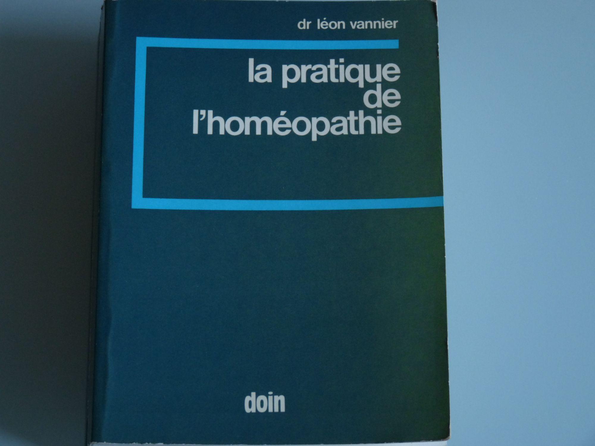 La Pratique de l'homéopathie