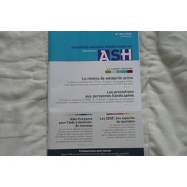 Actualit�s Sociales Hebdomadaires - Ash 2741
