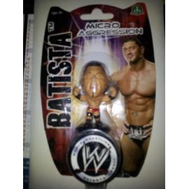 Wwe - Micro Aggression - Figurine Batista 5cm
