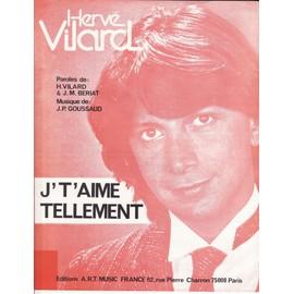 """Hervé VILARD """"Je t'aime tellement"""""""