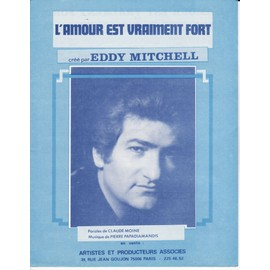 "Eddy MITCHELL ""L'amour est vraiment fort"""