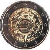 Euro - Pi�ce 2 Euros Comm�morative - 2012 - Allemagne ( Atelier F ) - 10 �me Anniversaire De L'introduction Des Pi�ces Et Billets En Euro
