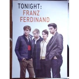 Franz Ferdinand Affiche 61x82 Recto / Verso Tonight