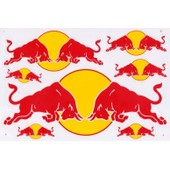 Planche Autocollante Stickers ( Style Monster Energy ) Torro Rosso
