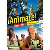 Espagnol 1re Ann�e A1-A2 Animate ! - (1c�d�rom) de Fabienne Alais-Ferrand