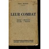 Leur Combat : Lenine - Mussolini / Hitler- Franco de PAUL MARION