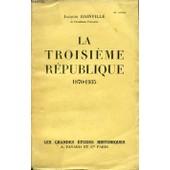 Le Troisieme Republique 1870/1935 de JACQUES BAINVILLE